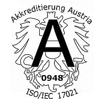 OCG Akkreditierungslogo nach ISO/IEC 17021